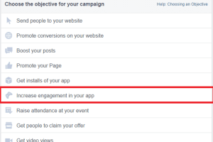 Facebook App Engagement