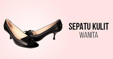 Sepatu Kulit Wanita yang Nyaman untuk Kerja