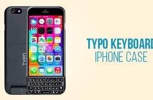Typo Keyboard iPhone Case