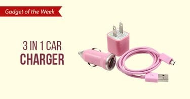 3 in 1 car charger