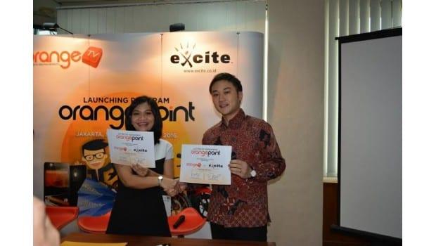Orange TV Kerjasama dengan Excite Indonesia
