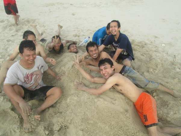Pasir Putih Pantai Sawarna