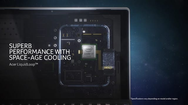 Sistem Pendingin Acer Switch Alpha 12