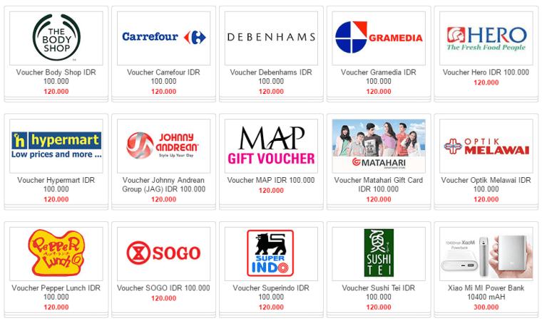 Voucher Belanja Gratis Excite Shop