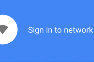 Masalah Sign In To Network