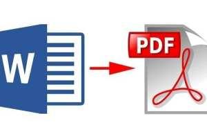 Mengubah Kata ke PDF