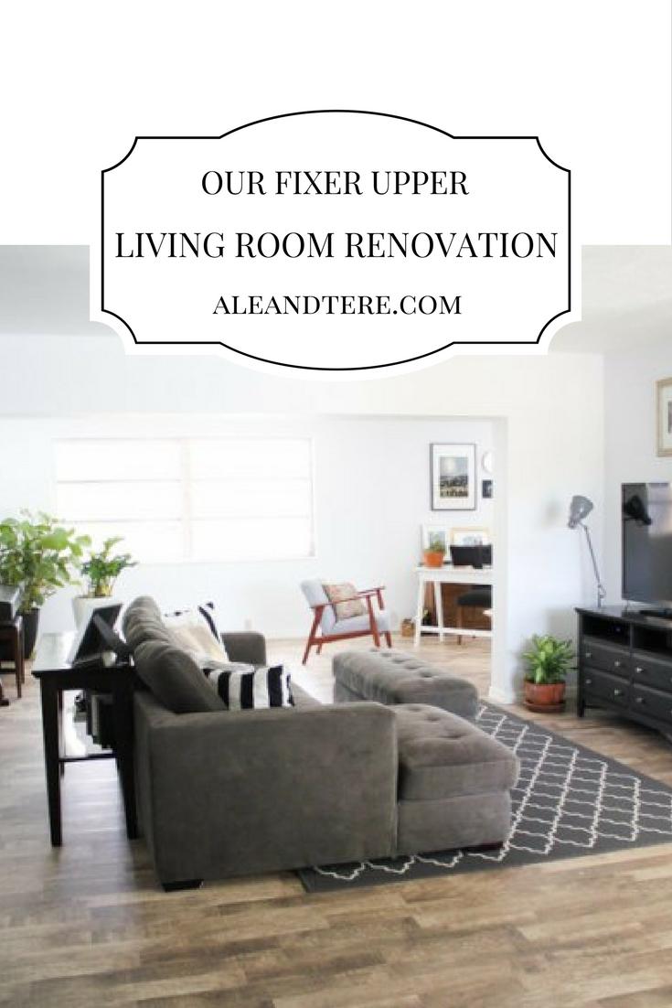 OUR FIXER UPPER | LIVING ROOM RENOVATION