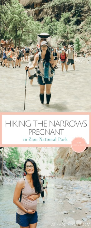 tips on hiking the narrows with kids