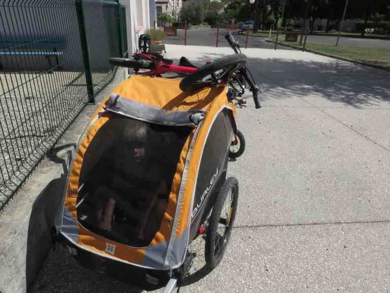 review of the Burley D'Lite Trailer