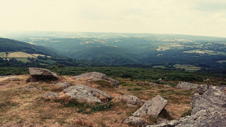 View from Buckland Beacon