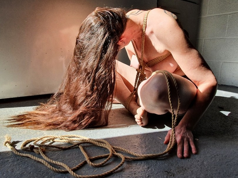 Excited about ebi shibari with swl in bondage