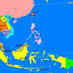 Southeast Asia Political Map A Learning Family