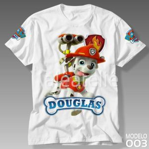 Camiseta Patrulha Canina 003