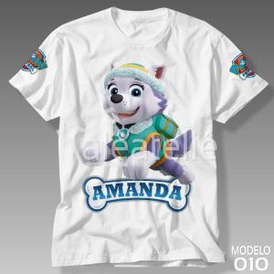 Camiseta Patrulha Canina 010