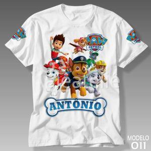 Camiseta Patrulha Canina 011