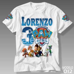 Camiseta Patrulha Canina 012