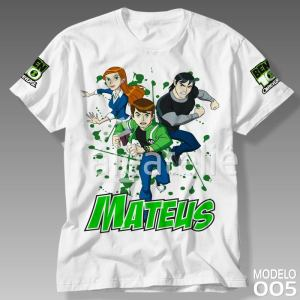 Camiseta Ben 10 Alien Force