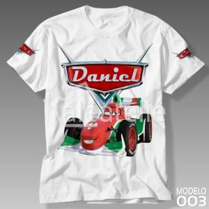 Camiseta Carros Disney Francesco