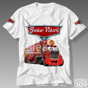Camiseta Carros Disney Mack