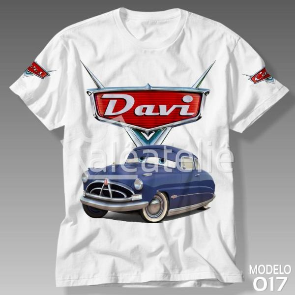 Camiseta Carros Disney Doc Hudson
