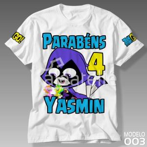 Camiseta Jovens Titans Ravena