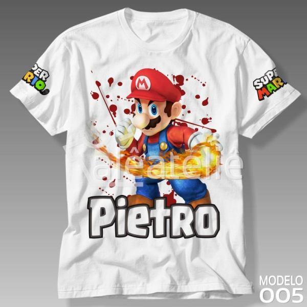 Camiseta Super Mario Odyssey