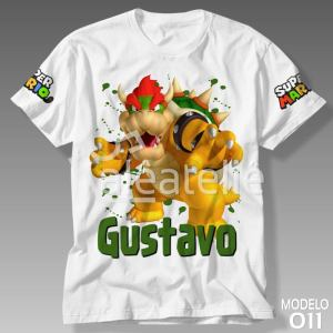 Camiseta Super Mario Bros 011
