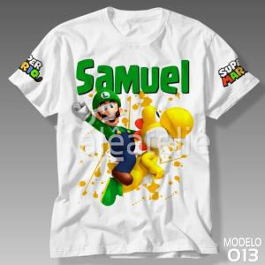 Camiseta Super Mario Bros 013
