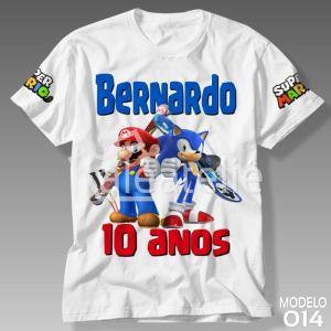 Camiseta Super Mario Bros 014
