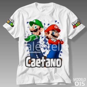 Camiseta Super Mario Bros 015