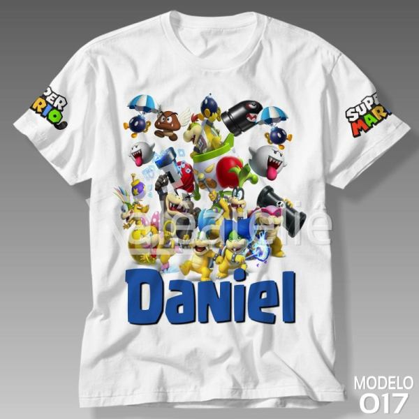 Camiseta Super Mario Koopalings