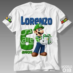 Camiseta Super Mario Bros 018