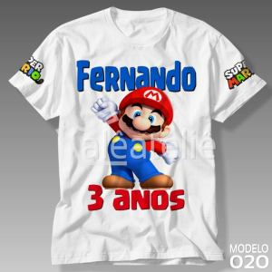 Camiseta Super Mario Bros 020