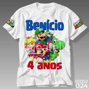 Camiseta Super Mario World