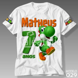 Camiseta Super Mario Bros 029