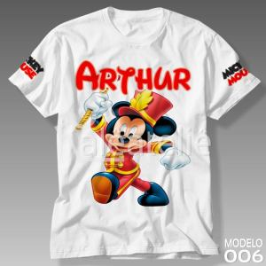 Camiseta do Mickey Mouse