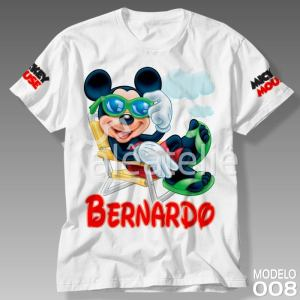 Camiseta Mickey Mouse 008