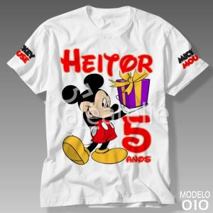 Camiseta Mickey Mouse 010
