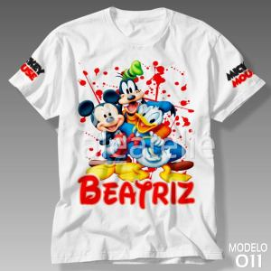 Camiseta Mickey Mouse 011