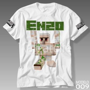 Camiseta Minecraft Iron Golem