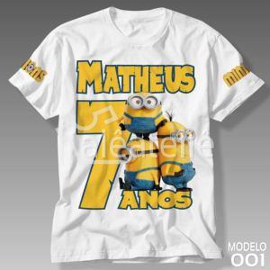 Camiseta Minions 001