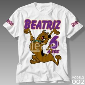 Camiseta Scooby Doo 002