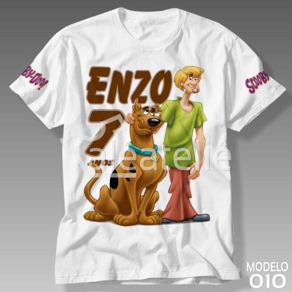 Camiseta Scooby Doo Festa