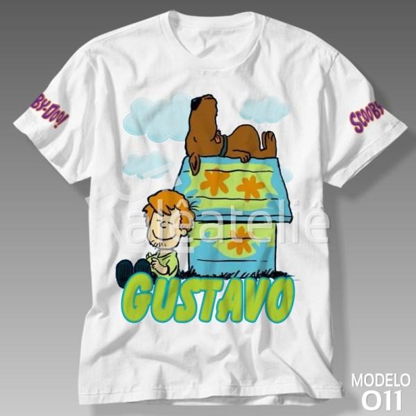 Camiseta Personalizada Scooby Doo
