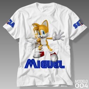 Camiseta Sonic 004