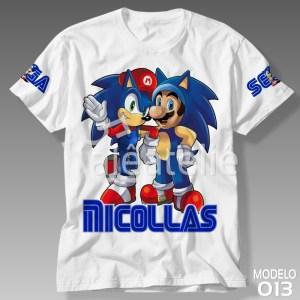 Camiseta Sonic 013