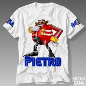 Camiseta Sonic Dr Eggman