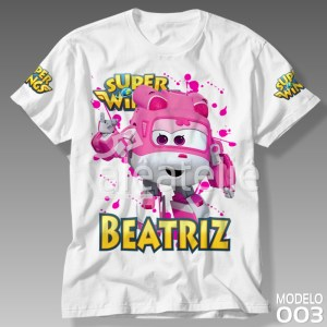 Camiseta Super Wings Dizzy