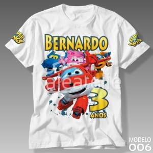 Camiseta Super Wings 006