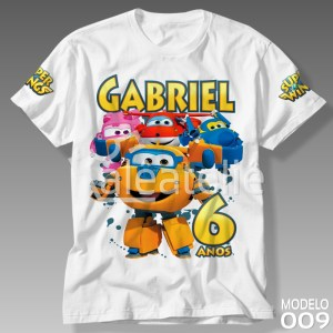 Camiseta Super Wings 009